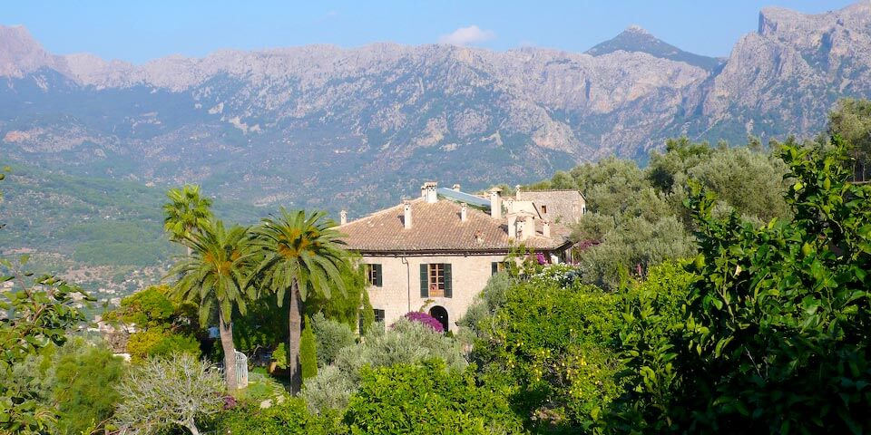Finca Cas Xorc Mallorca - Camp Major Location